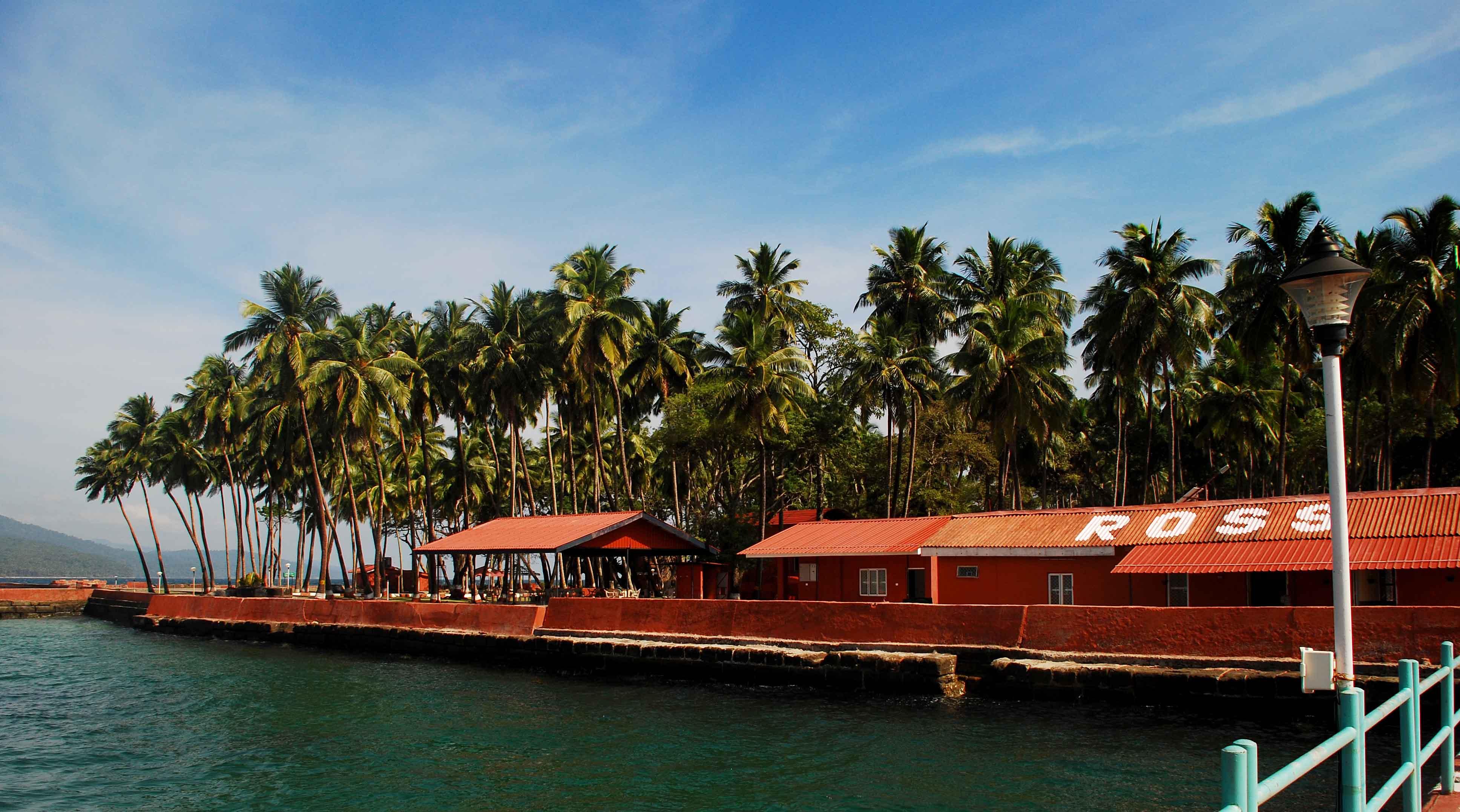 Ross island Andamans