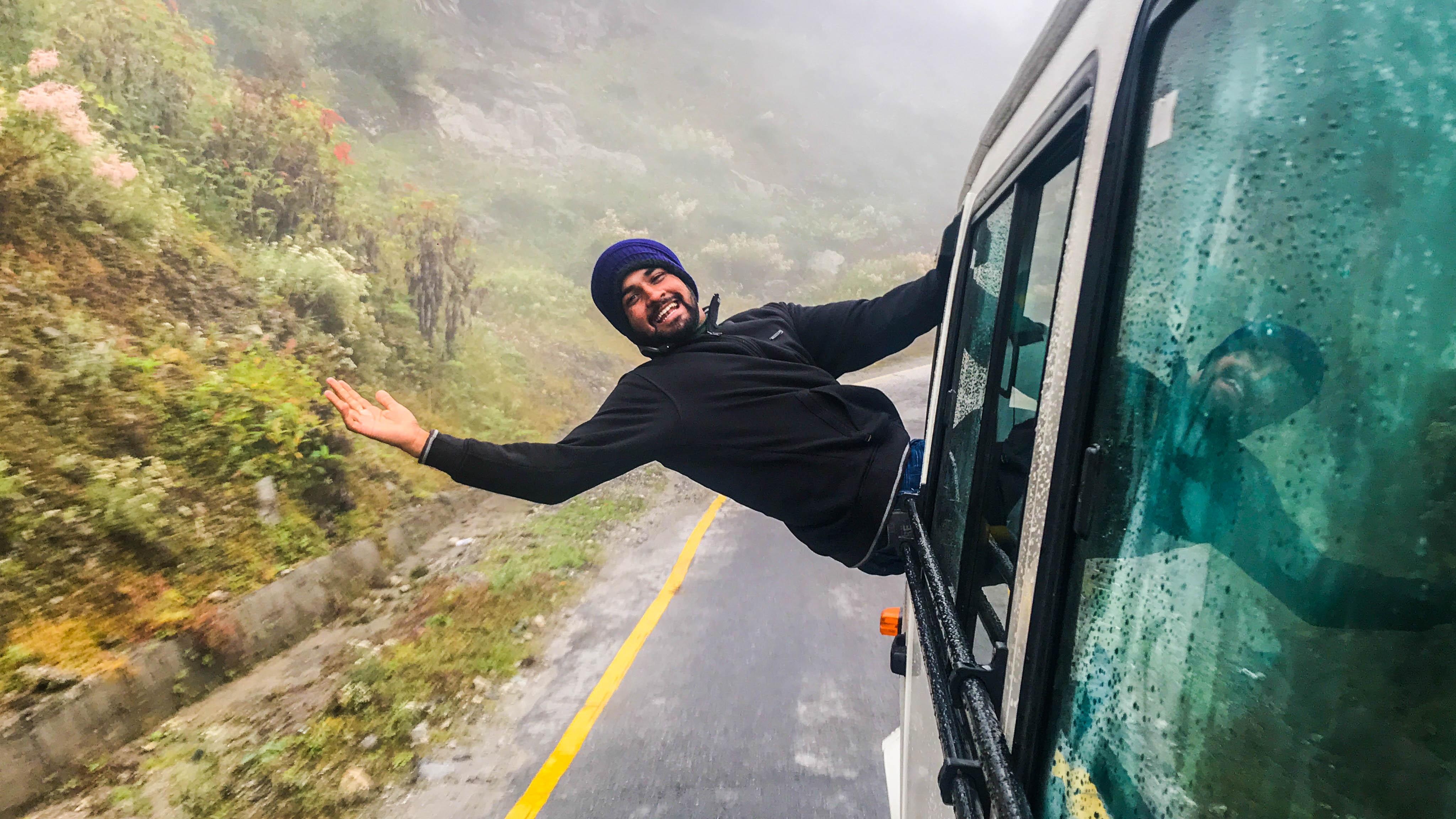 Harsh Chhadva On his own trip