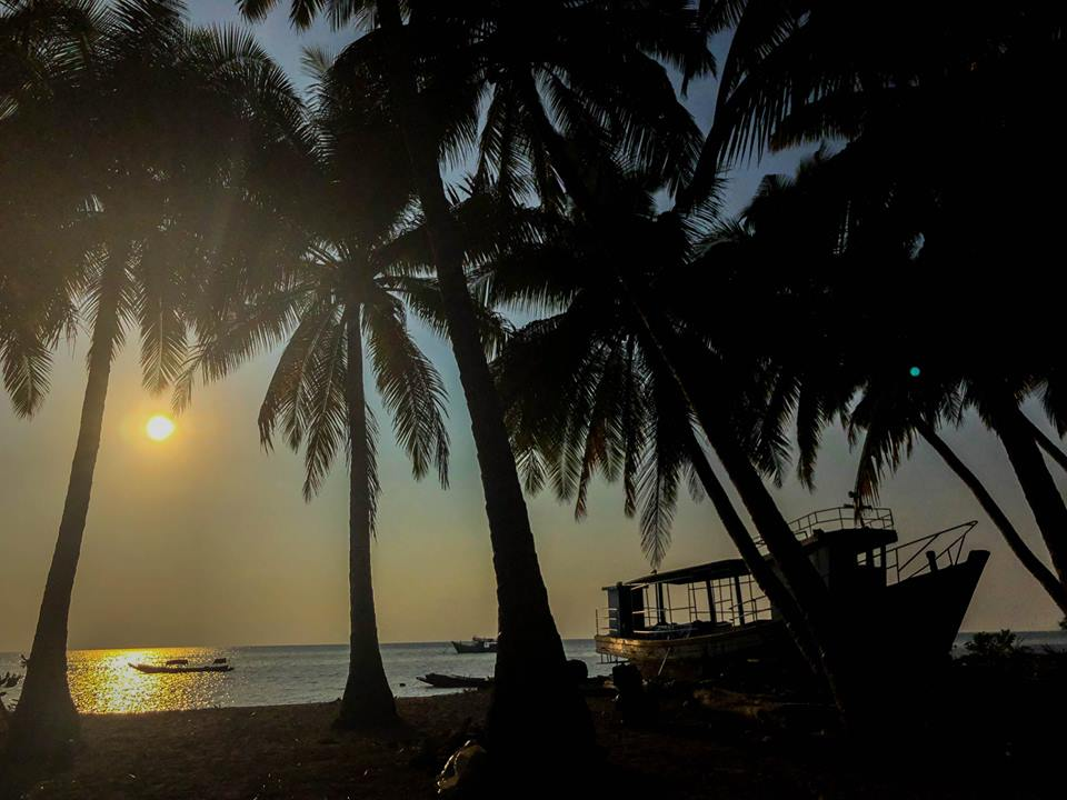 Sunrise in Andamans
