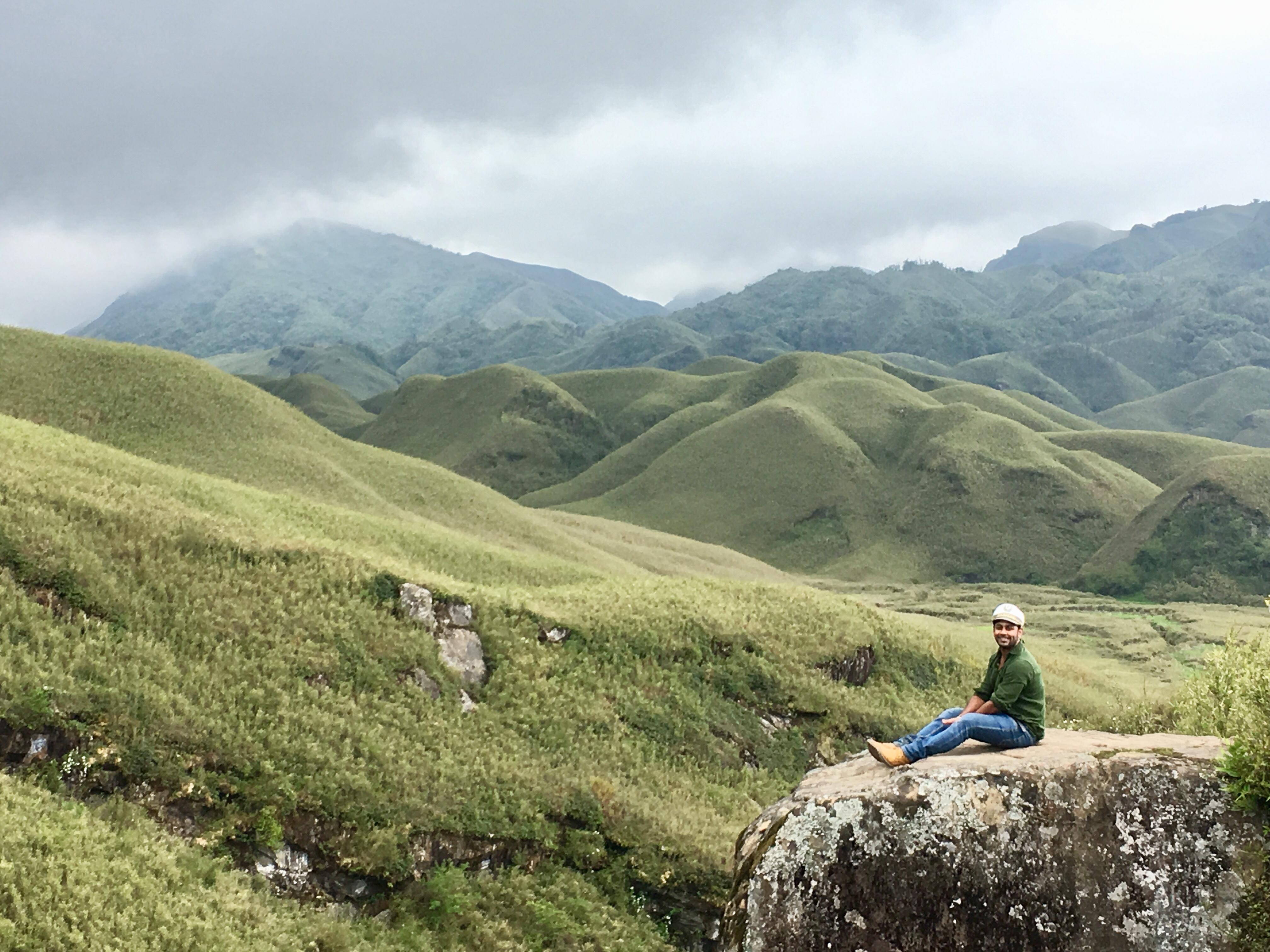 Dzukou valley trek