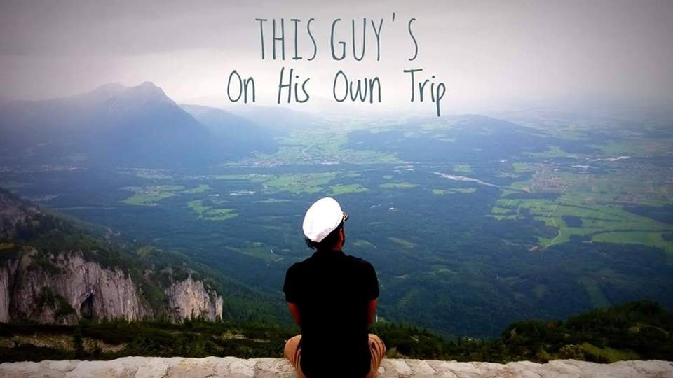 This Guy's On His Own Trip
