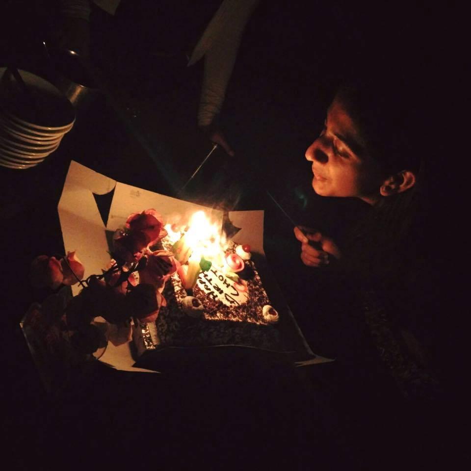 birthday with strangers