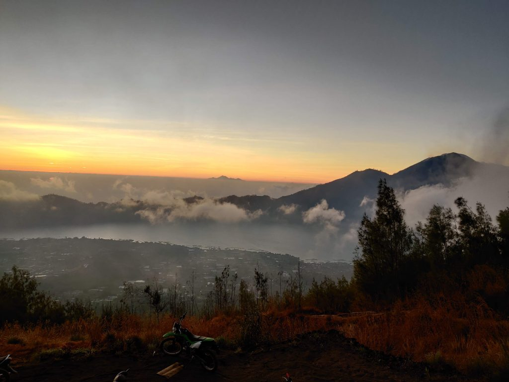 How to reach Mount Batur