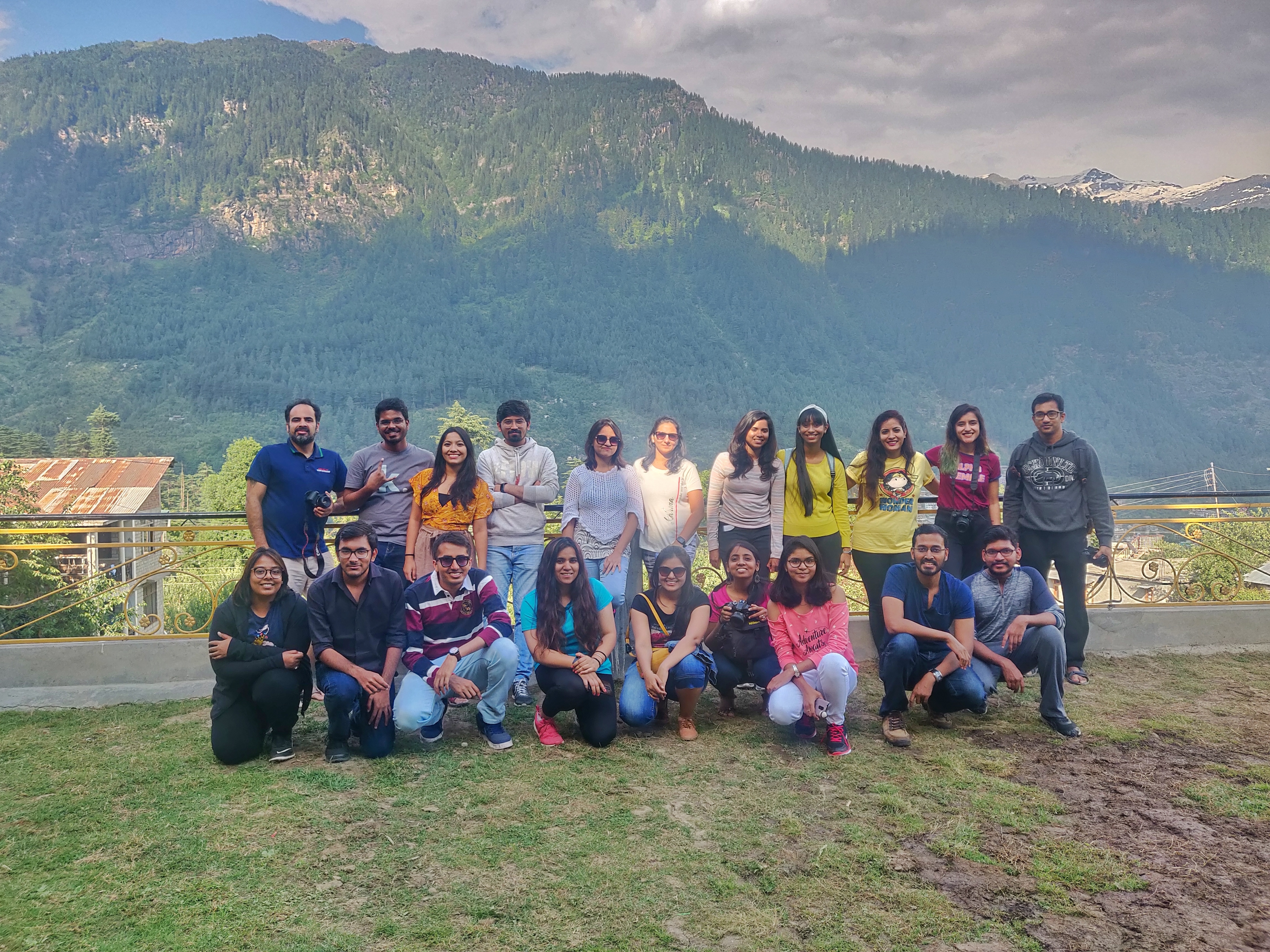 Manali in summers