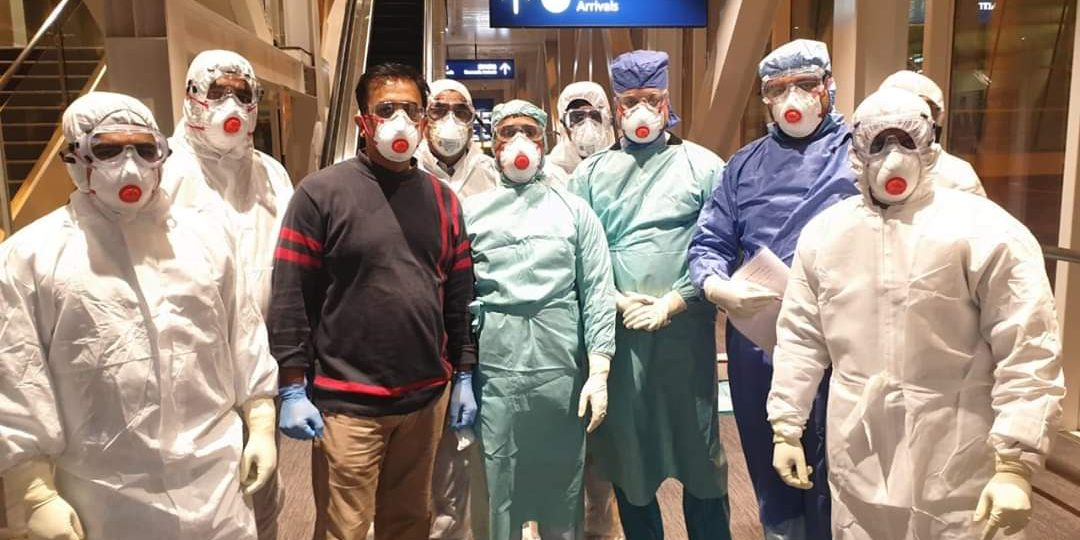 Medical Team go on Mission to Rescue 324 Indians from Wuhan