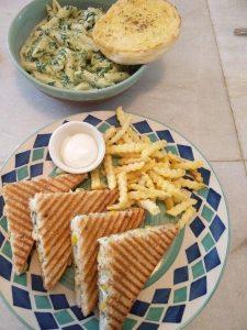 good food at roastery coffee house