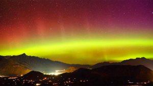 New Zealand Southern lights