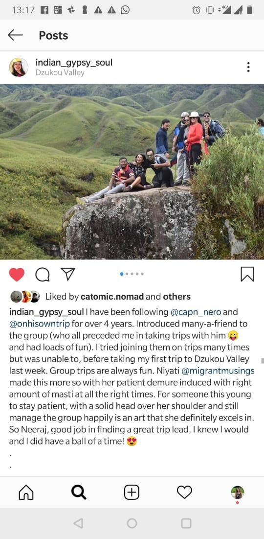 Trip Leader Niyati