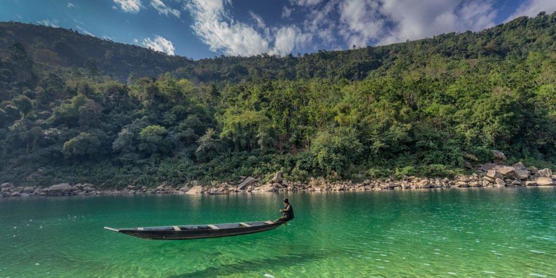 Dawki River Meghalaya