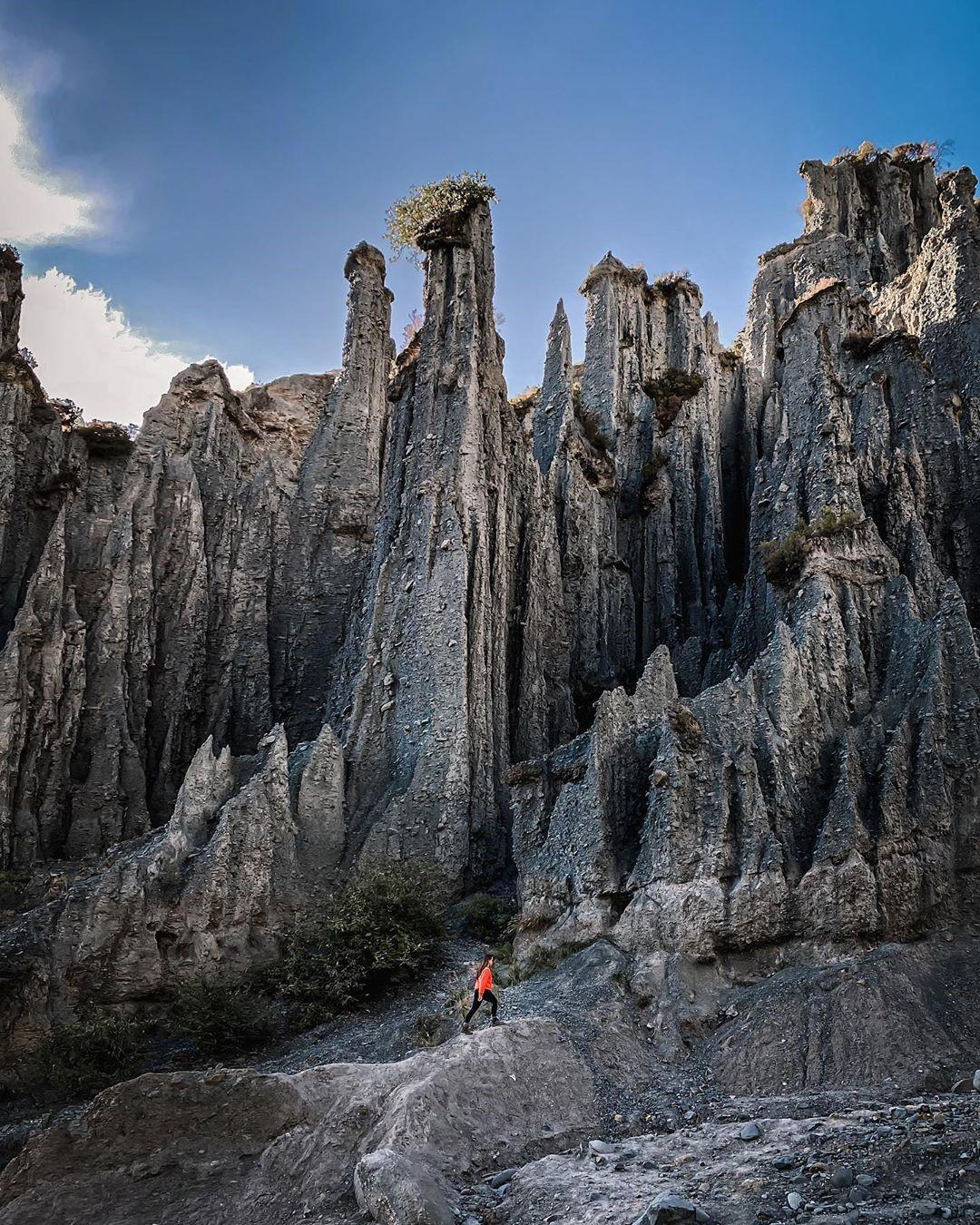 The Putangirua Pinnacles