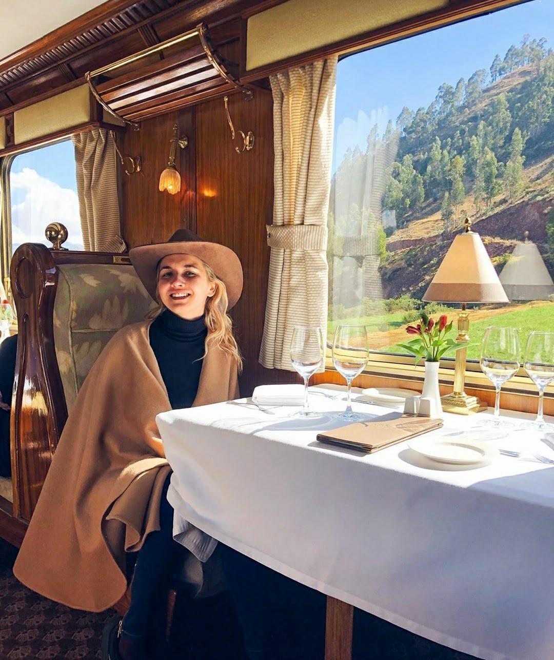 3)Hiram Bingham Orient Express