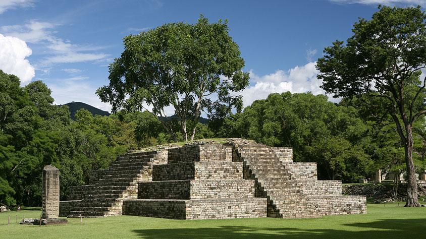 the Ruins of Quirigua