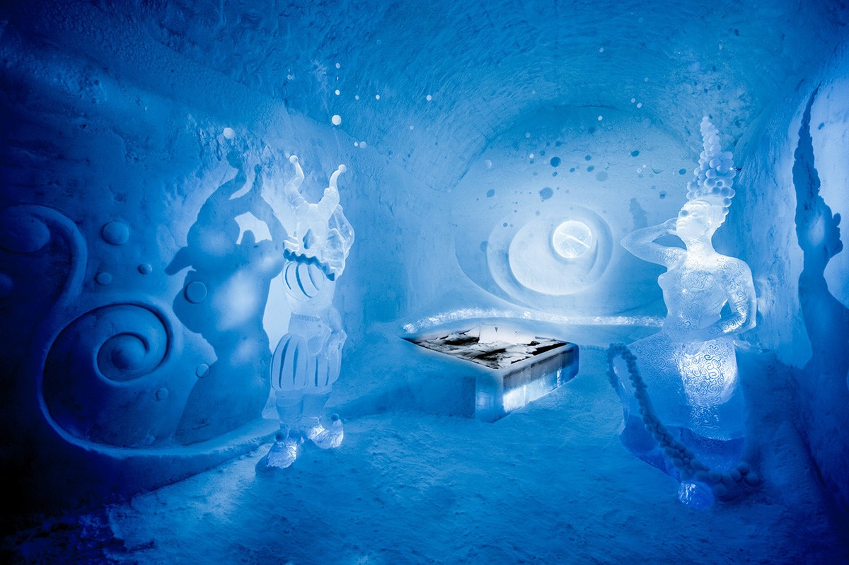 ice hotels in sweden