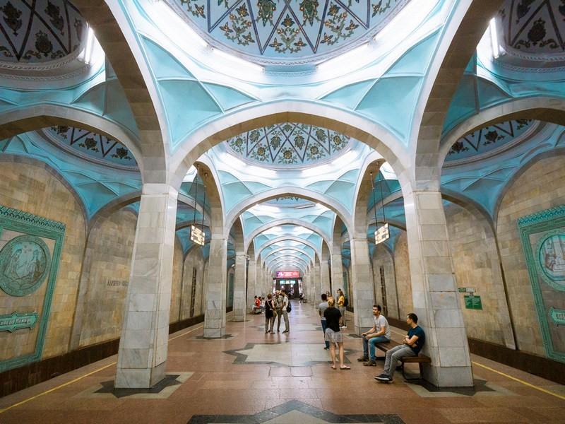 Tashkent's metro stations