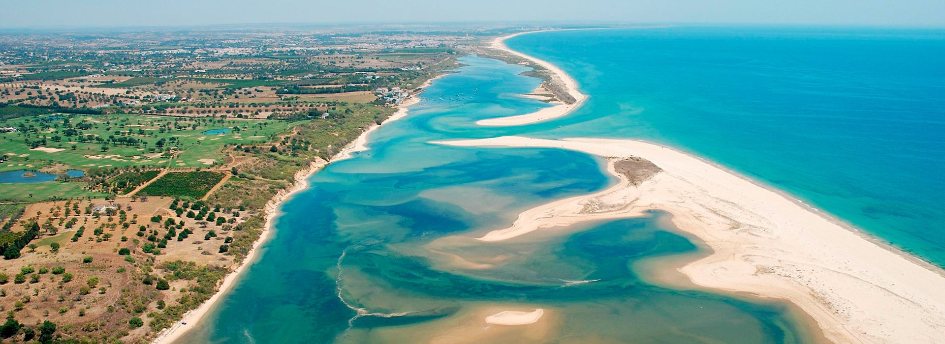 Ria Formosa Natural Park lagoons