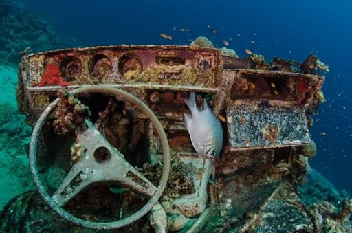 blue bell wreck