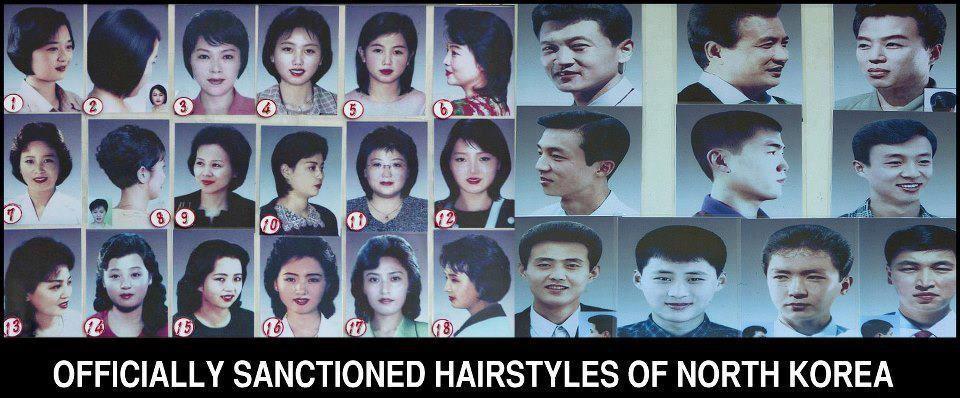 haircuts in north korea