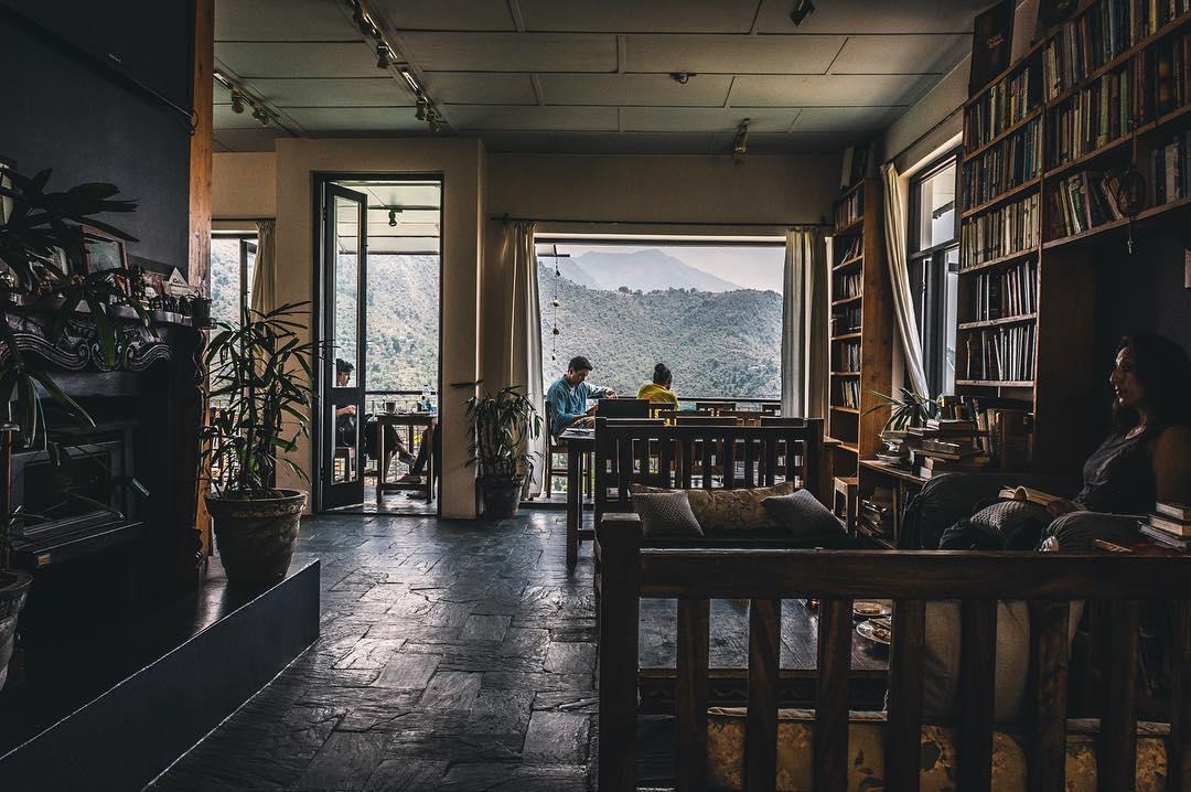 Cafe Illiterati Dharamshala