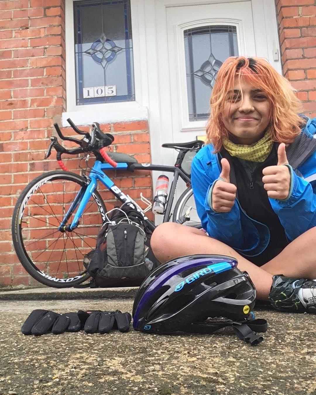 Vedangi Kulkarni youngest female to cycle the world
