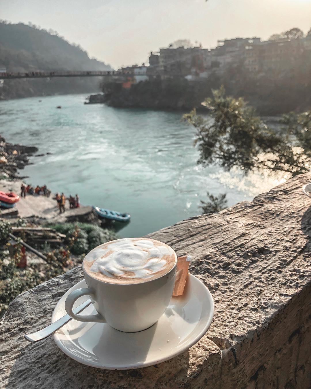 Ganga View Café Rishikesh