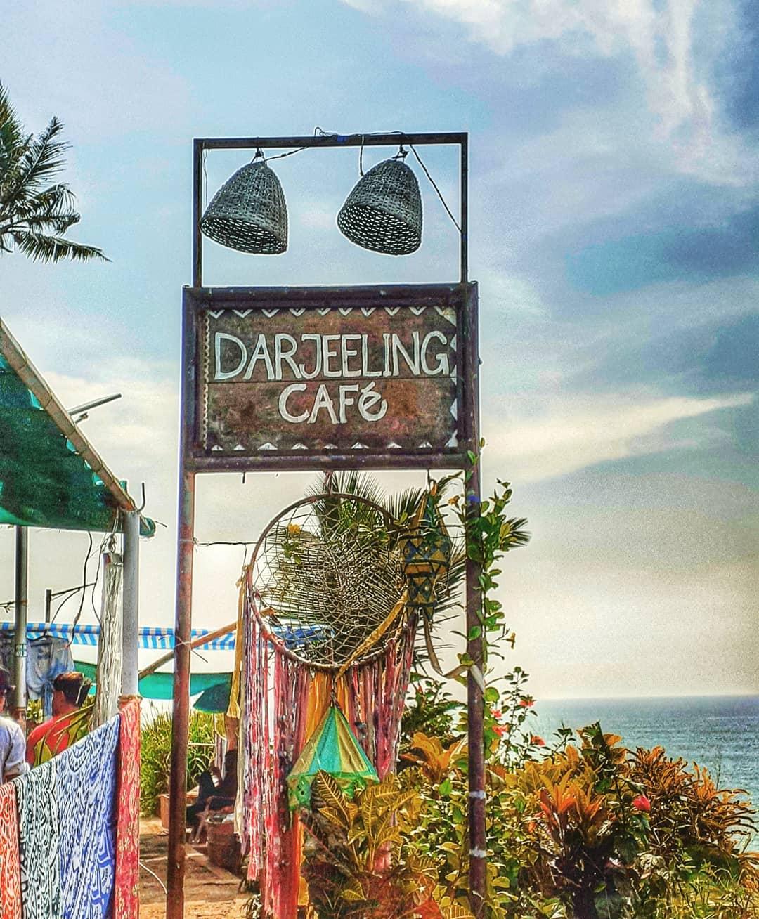 Darjeeling cafe Varkala