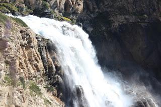 Phoksunda Lake trek route