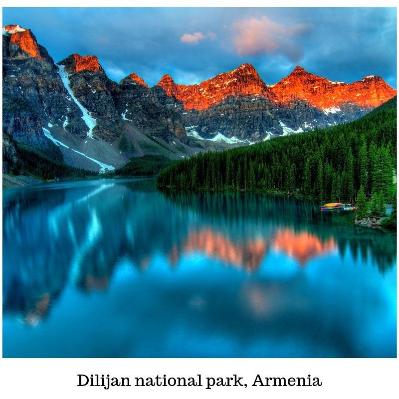 2)Dilijan National Park