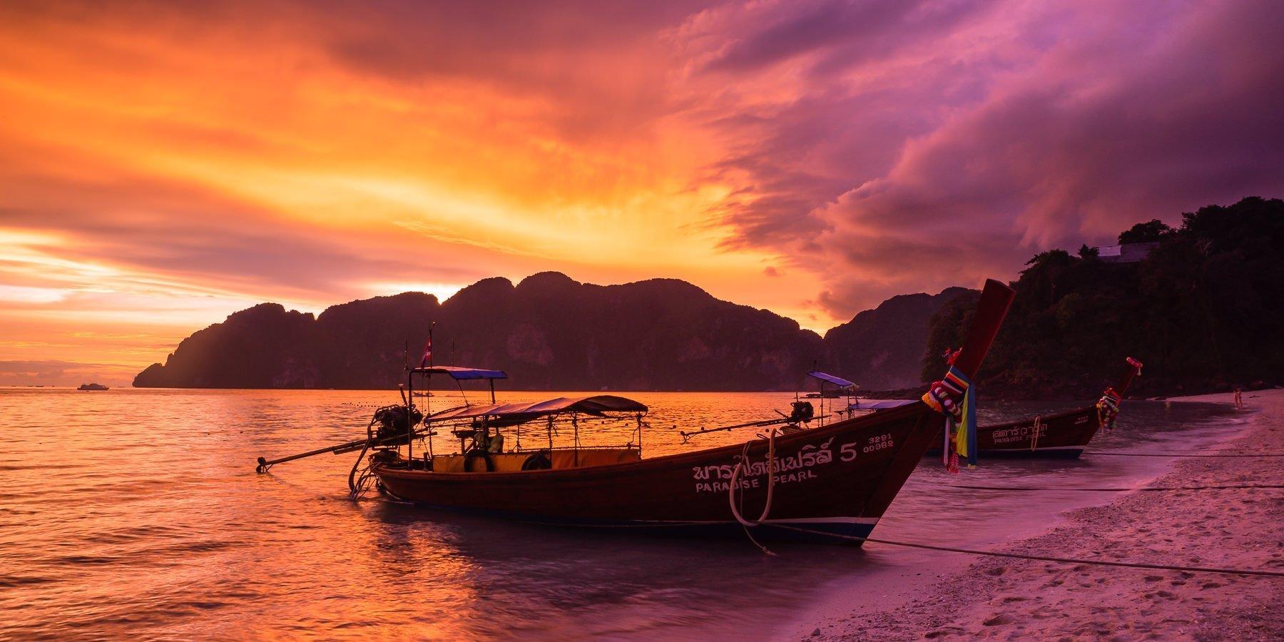 Phi Phi Island Sunsets