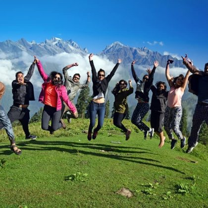 best group treks in india