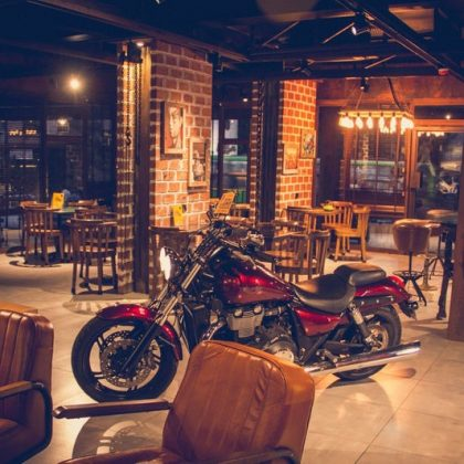 Biker Themed Cafes in India