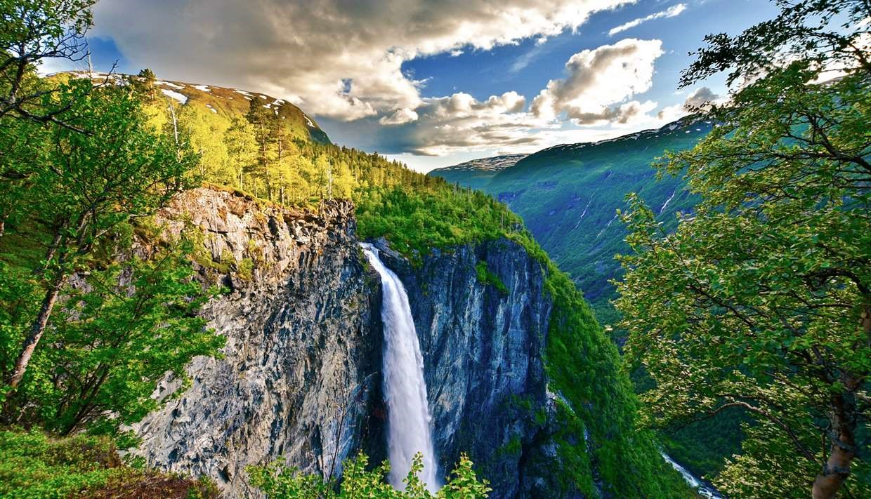 Vettisfossen, Norway