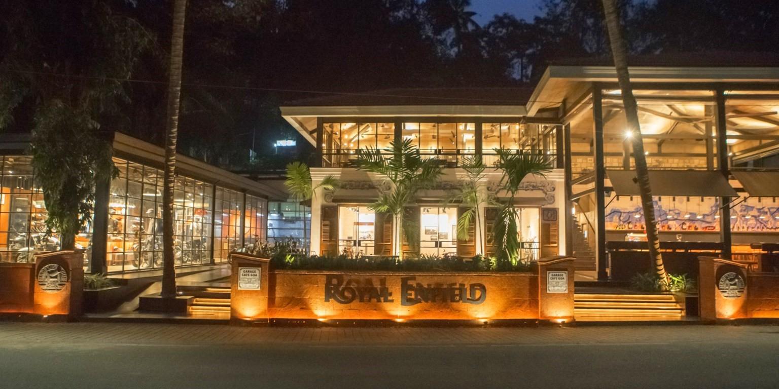 Royal Enfield Garage Cafe - Goa