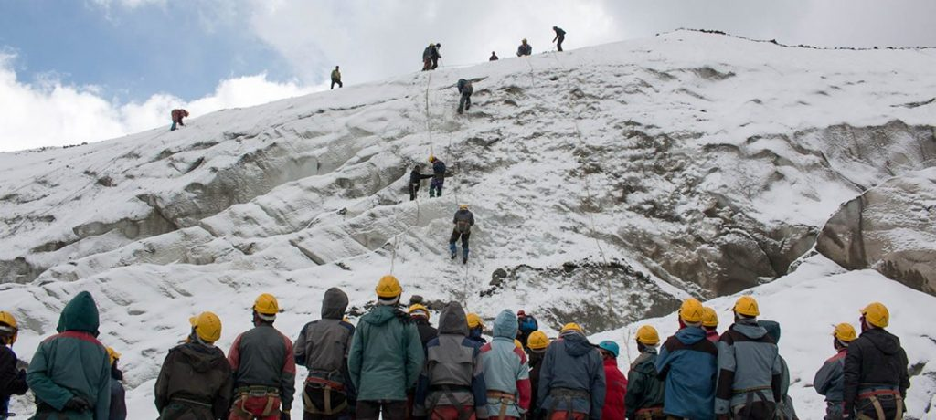 Basic Mountaineering Courses in India