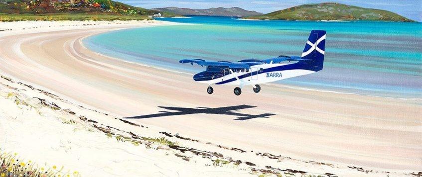 1)Barra Airport, Hebrides, Scotland