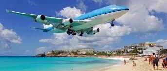 2)Princess Juliana International Airport, Caribbean Island, Saint Martin