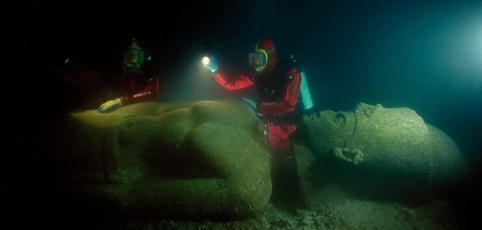 2)Heracleion, Egypt