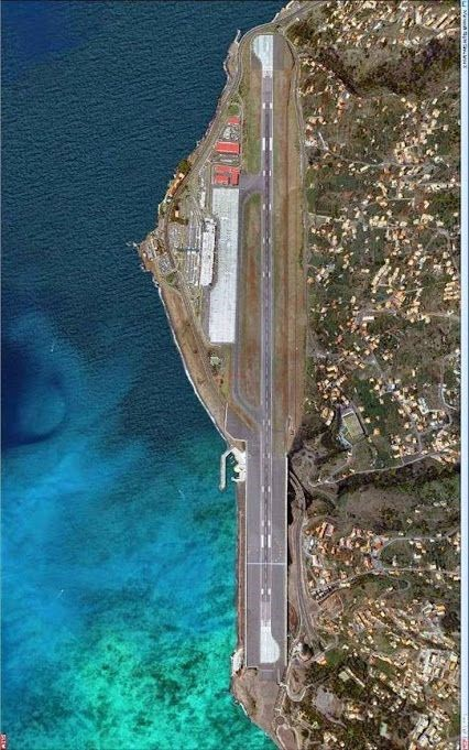 3)Madeira International Airport, Santa Cruz, Portugal