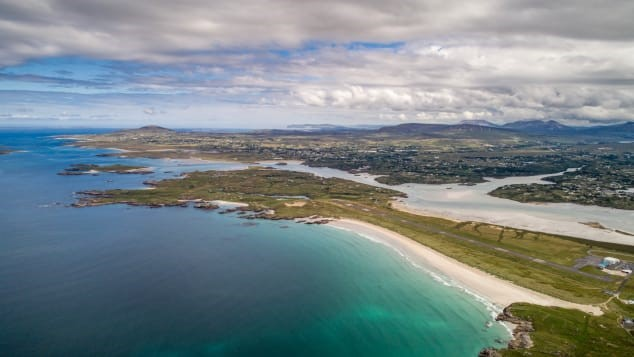 5)Donegal Airport, Ireland