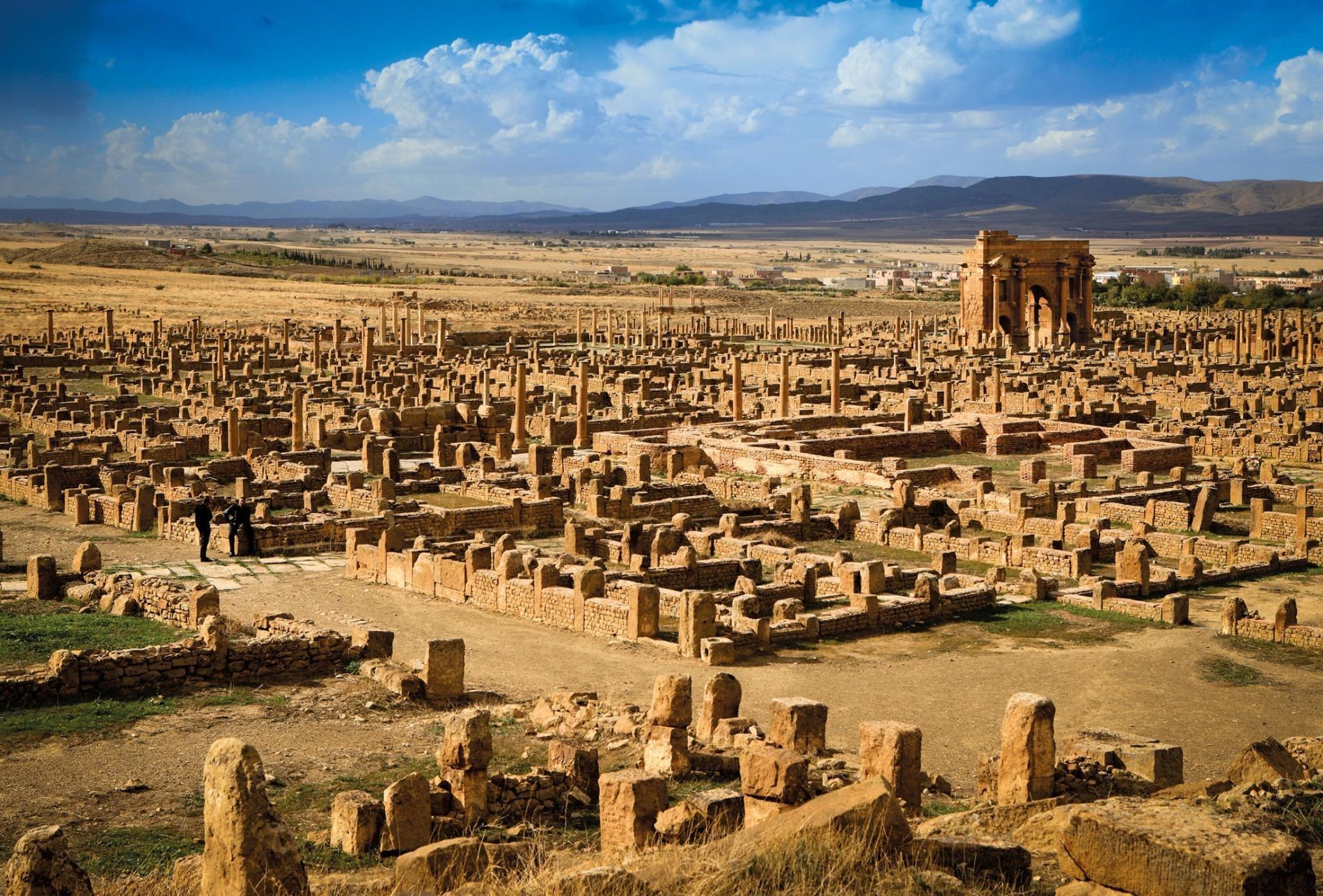 4)Thamugadi, Algeria