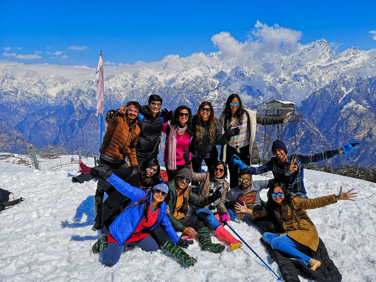 group trips to auli