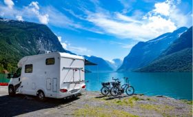 caravanning accross india