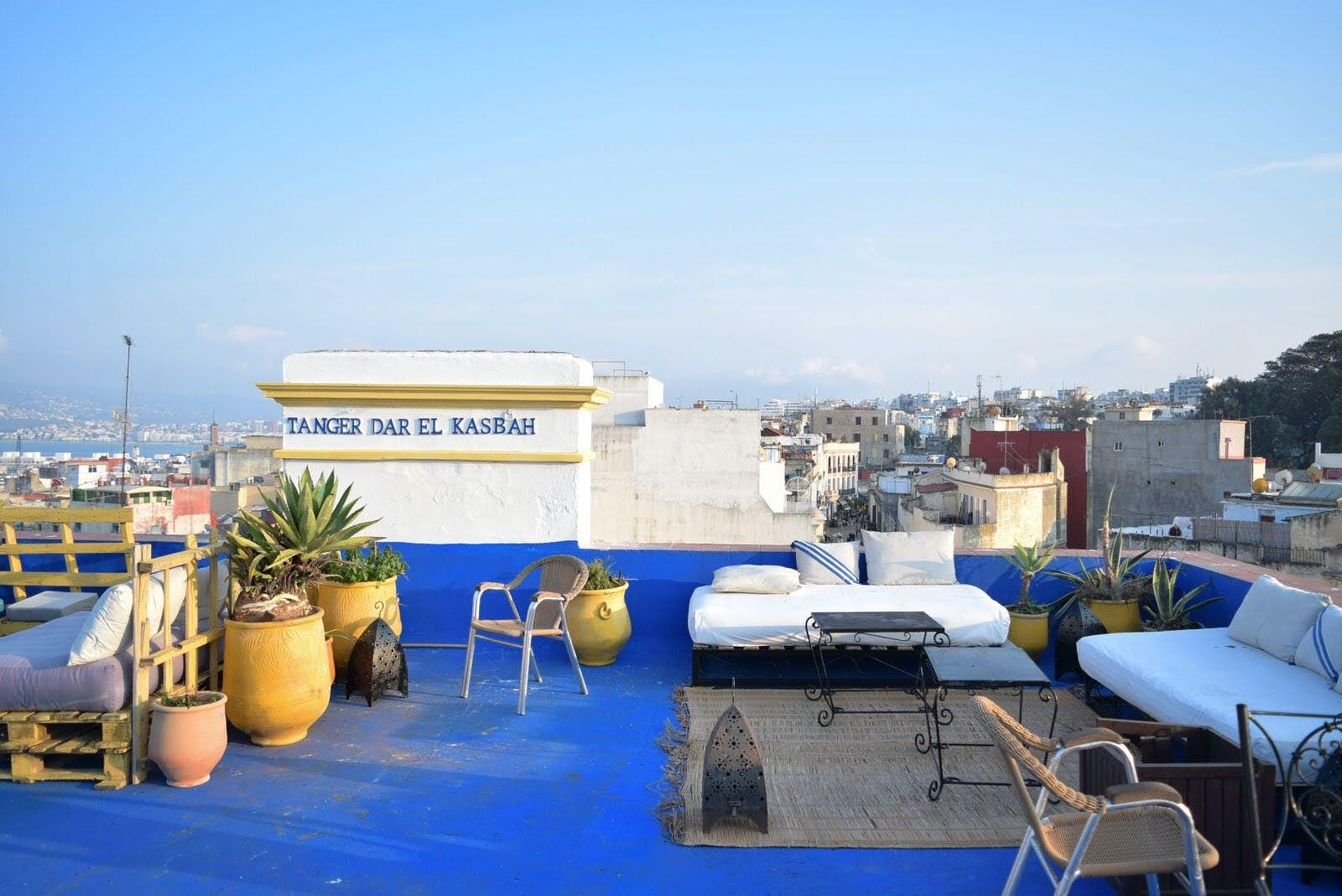 4)La Terrasse De Dar El Kasbah