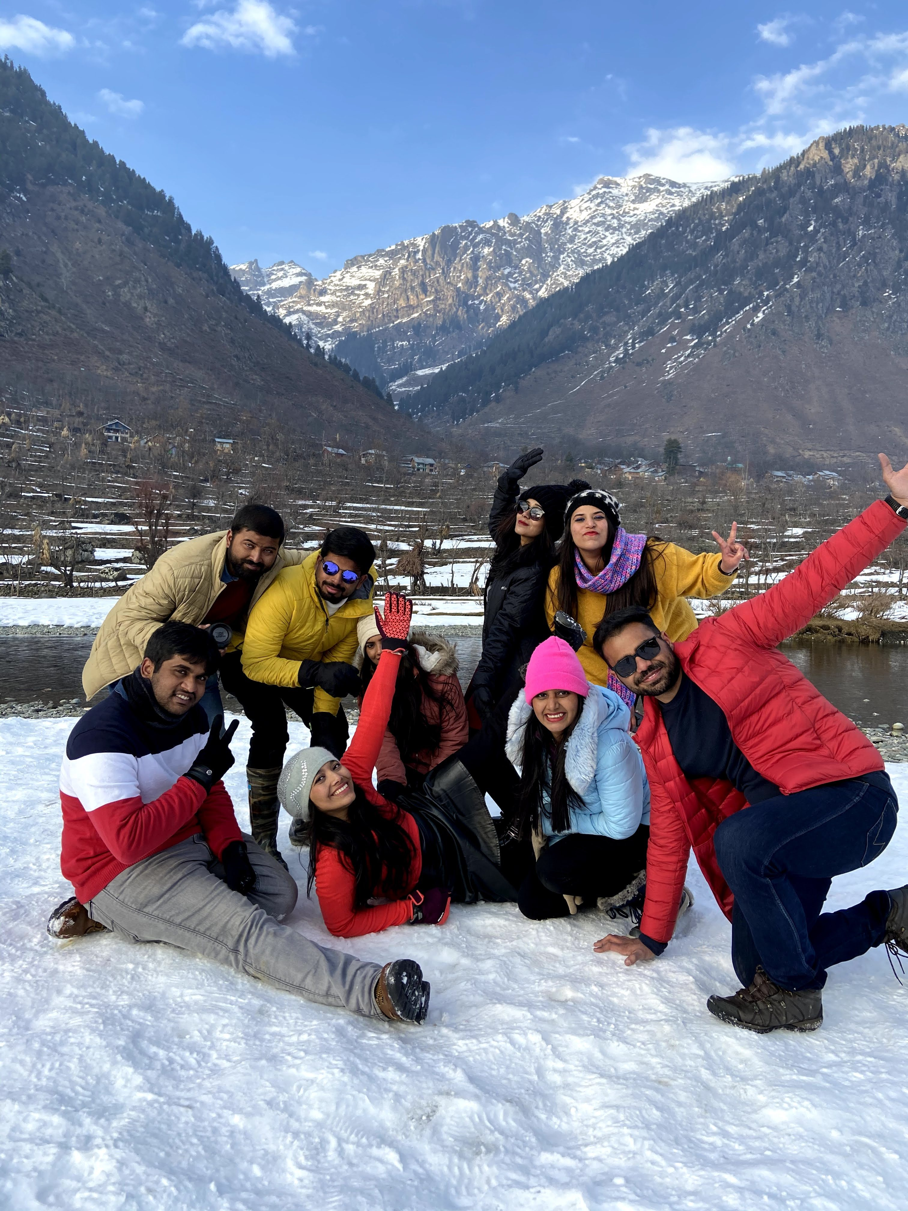 kashmir group trip