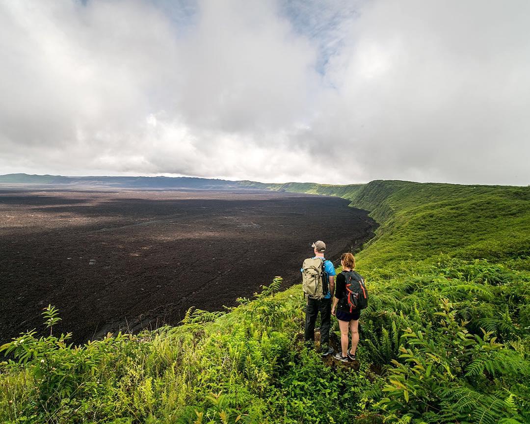 hiking in galapagos