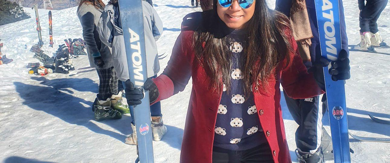 Snow sports in Auli