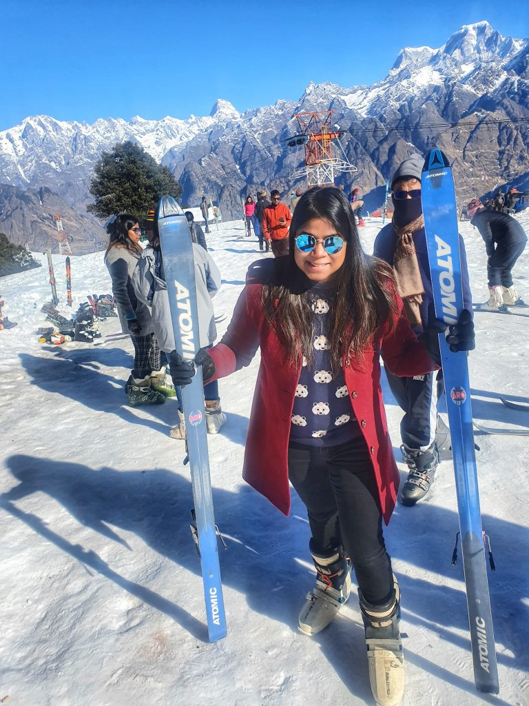 Snow Sports In Auli