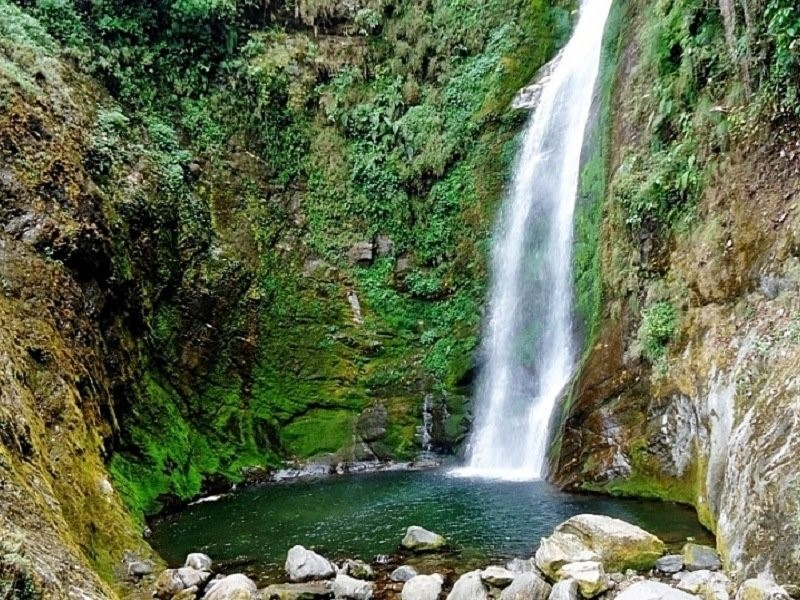 waterfalls in west bengal