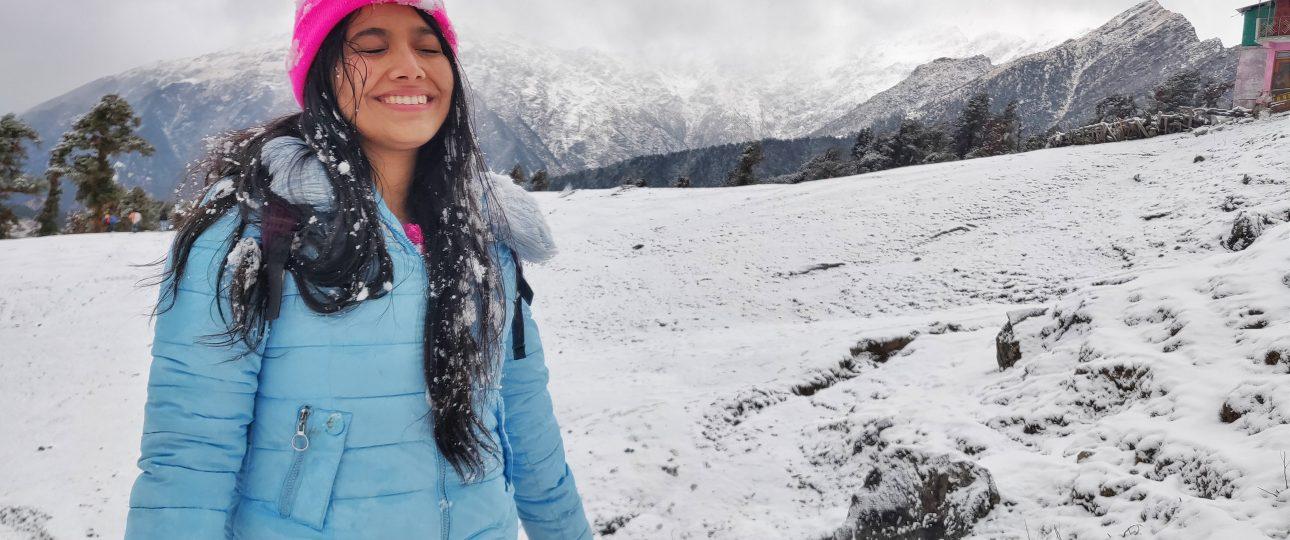 Trip leader Sakshi Pant