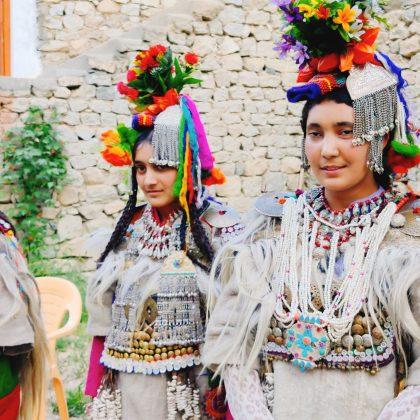 brokpas in their traditional attire