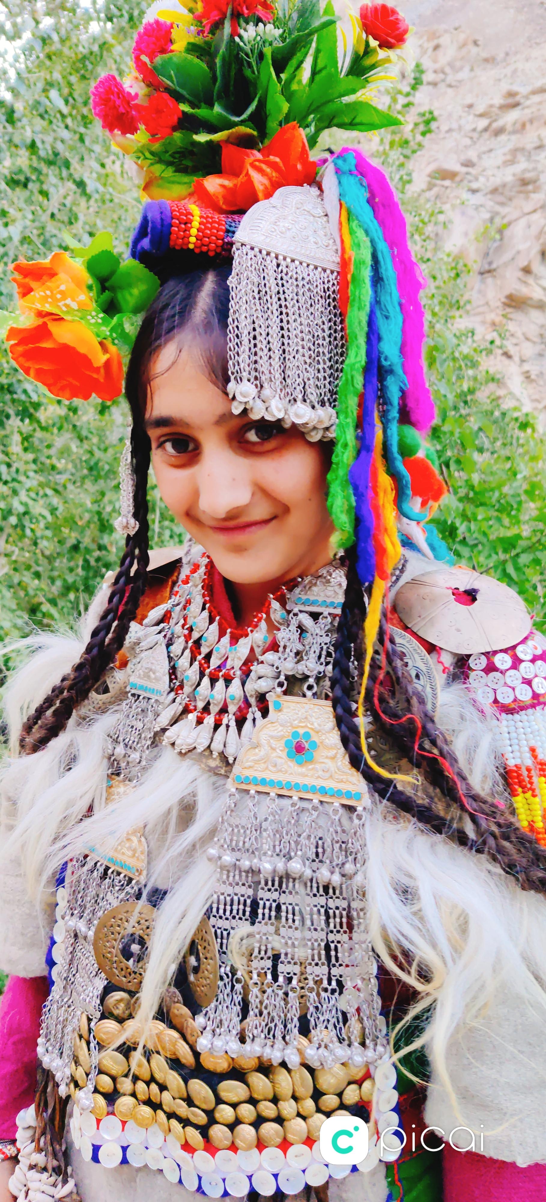 A tribal Brokpa girl